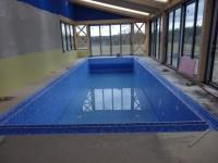 vnitřní bazén s folií