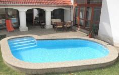 Bazény do země, bazén s folií alkorplan
