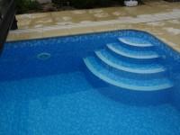 foliový bazén do země