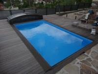 bazén se zastřešením