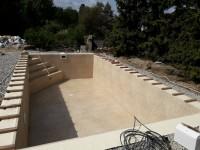 stavba bazénu do země s folií alkorpan