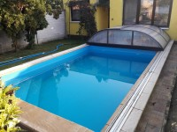 bazénové zastřešení